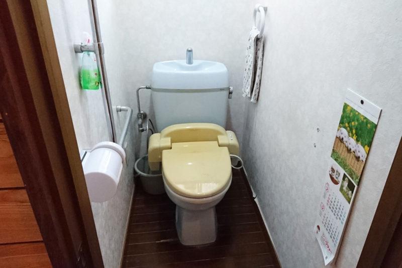トイレ便器入れ替え(Before)