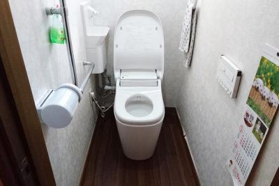 トイレ便器入れ替え(After)